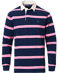 Polo Ralph Lauren Striped Rugger Navy/Pink