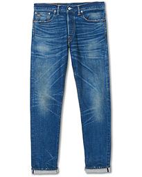 RRL Slim Narrow Selvedge Jeans Grandfalls Wash