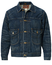 RRL Cowboy Denim Jacket Irondale Wash