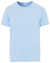 NN07 Pima Cotton Crew Neck Tee Light Blue