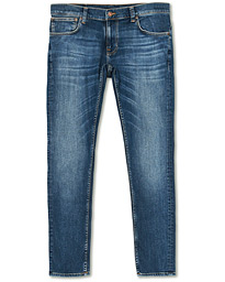 Tight Terry Organic Jeans Steel Navy