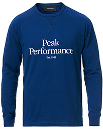 Peak Performance Walt Long Sleeve Tee Blue