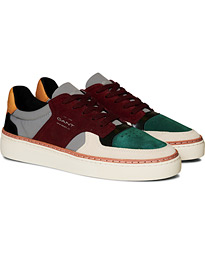 GANT Mc Julien Sneaker Green/Slate Grey/Wine Red
