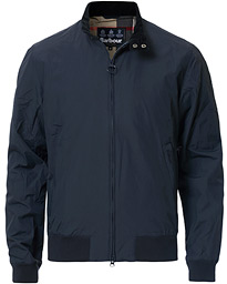 Barbour Lifestyle Royston Casual Harrington Jacket Navy