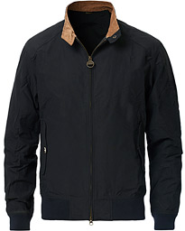 Barbour International Steve McQueen Rectifer Harrington Jacket Navy