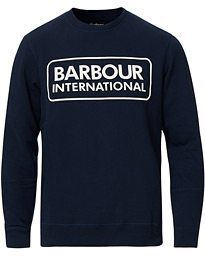 Barbour International Large Logo Sweatshirt Navy