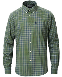 Barbour Lifestyle Tailored Fit Check 16 Shirt Olive