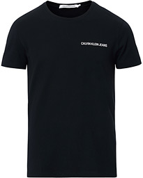 Calvin Klein Jeans Chest Institutional Crew Neck Tee Black