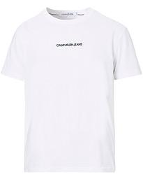 Calvin Klein CHEST LOGO - T-shirt - bas - calvin navy