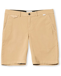 Calvin Klein Slim Fit Garment Dyed Shorts Beige