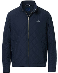 GANT The Quilted Windcheater Jacket Evening Blue