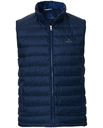 GANT The Light Down Gilet Marine