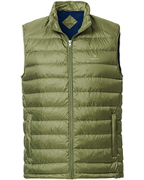 GANT The Light Down Gilet Four Leaf Green