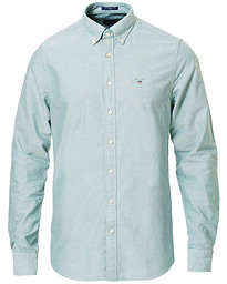 GANT Slim Fit Oxford Shirt Kelly Green