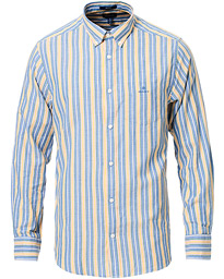 GANT Windblown Oxford Stripe Shirt Bright Cobolt