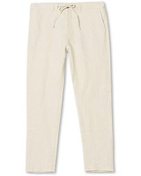 GANT Relaxed Linen Drawstring Pants Putty