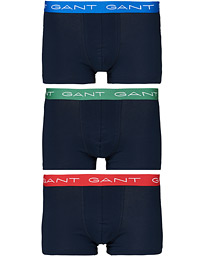 GANT 3-pack Trunk Solids Red/Green/Blue