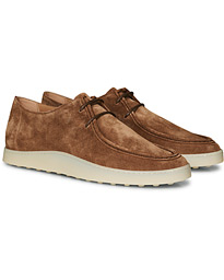 Tod's Norwegian Lace Derby Light Brown Suede