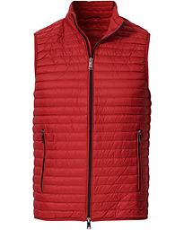 Down Vest Red