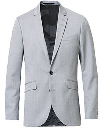 Tiger of Sweden James Wool Suit Blazer Grey