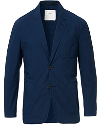 Tiger of Sweden Jake Garment Dyed Cotton Blazer Navy