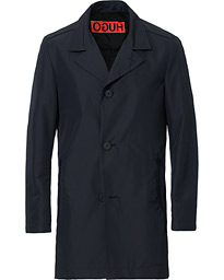 HUGO Midais Car Coat Dark Blue