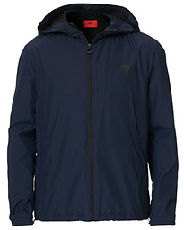 HUGO Ben Zip Jacket Dark Blue