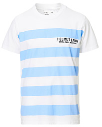 Helmut Lang Bars Tee Chalk White