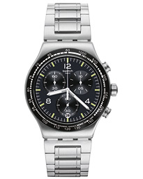Swatch Night Flight Steel