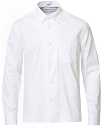Filippa K Zach Cotton Twill Overshirt White