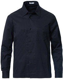 Filippa K Zach Cotton Twill Overshirt Navy