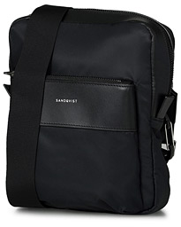 Sandqvist Matti Recycled Nylon Shoulder Bag Black