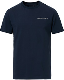 Henri Lloyd RWR Backprint Crew Neck Tee Navy