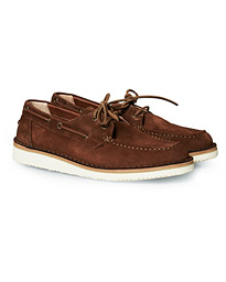 Astorflex Boatflex Suede Shoe Brown Suede