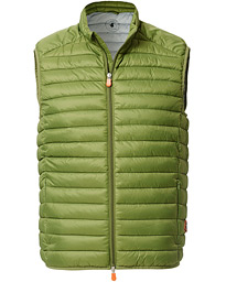 Save The Duck Lightweight Padded Vest Caper Green