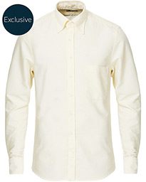 Stenströms Slimline Oxford Shirt Light Yellow