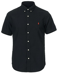 Polo Ralph Lauren Slim Fit Short Sleeve Oxford Shirt Polo Black