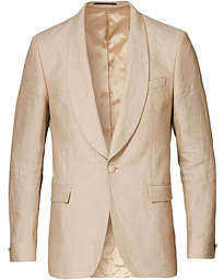 Tiger of Sweden Jenson Linen Shawl Collar Blazer Daisy