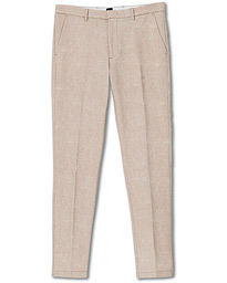 Kaito Structured Cotton Trousers Khaki