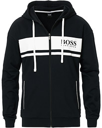 BOSS Loungewear Full-Zip Hoodie Black
