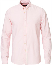 Morris André Oxford Button Down Shirt Pink