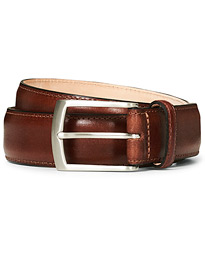 Henry Leather Belt 3,3 cm Mahogany
