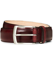 Henry Leather Belt 3,3 cm Burgundy