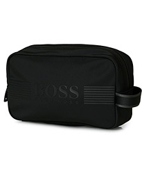 BOSS Athleisure Pixel Washbag Black