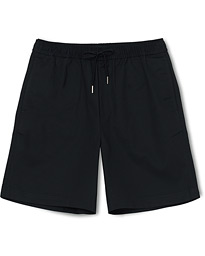 Fred Perry Drawstring Twill Shorts Navy
