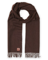 Merino Wool Scarf Brown