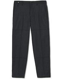 Lanvin Herm Flannel Wool/Cashmere Chino Dark Grey