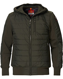 Parajumpers Gordon Hooded Hybrid Jacket Sycamore