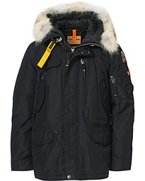 Right Hand Masterpiece Parka Black