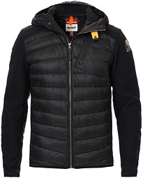 Parajumpers Nolan Hybrid Hooded Jacket Black